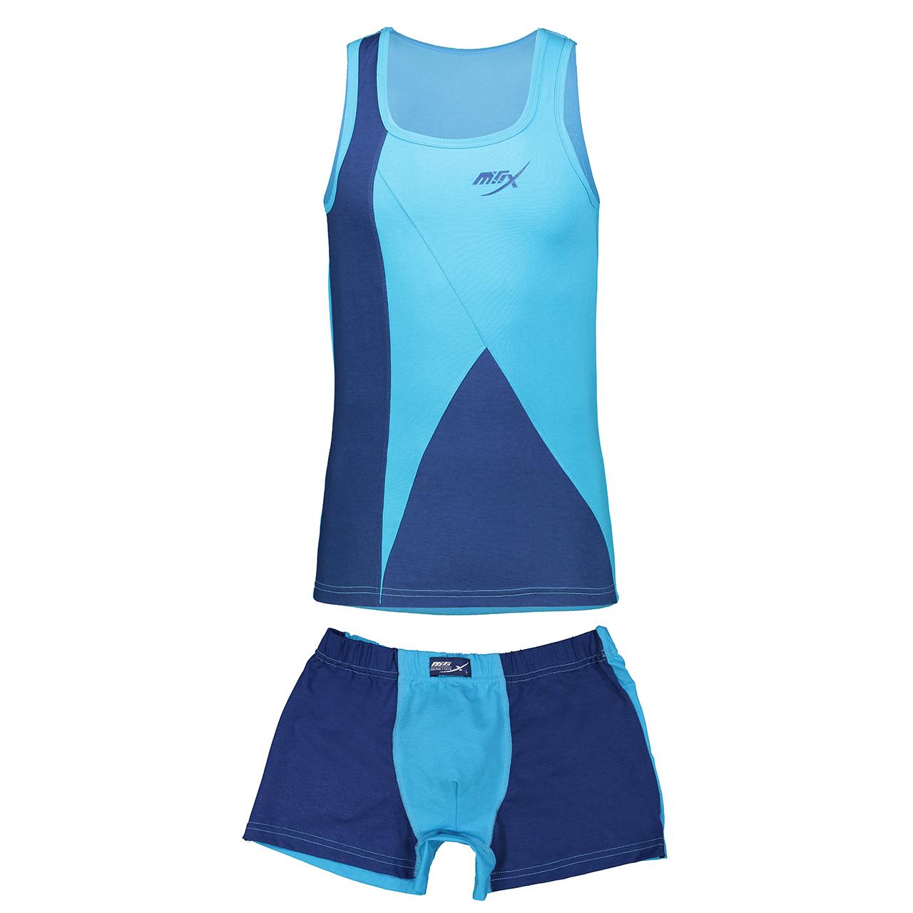 ست تاپ و شورت مردانه مکس کد 107   Max 107 Top And Underwear For Men