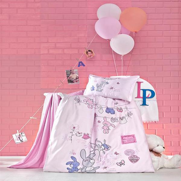 سرویس روتختی نوزادی 4 تکه  لوکا پاتیسکا مدل Little Pembe