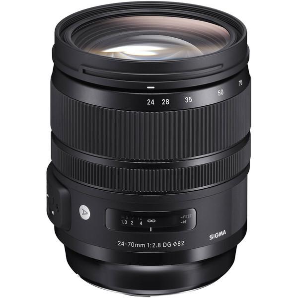 لنز سیگما مدل Art 24-70mm f/2.8 DG OS HSM مناسب برای دوربین نیکون