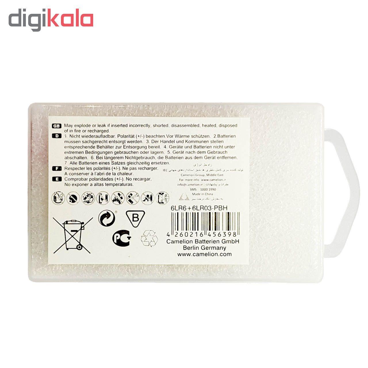 باتری قلمی و نیم قلمی کملیون مدل Plus Alkaline بسته 12 عددی main 1 2