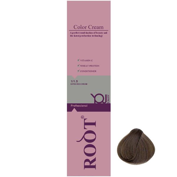 رنگ موی روت شماره 7.13 حجم 120 میلی لیتر رنگ بلوند شنی متوسط