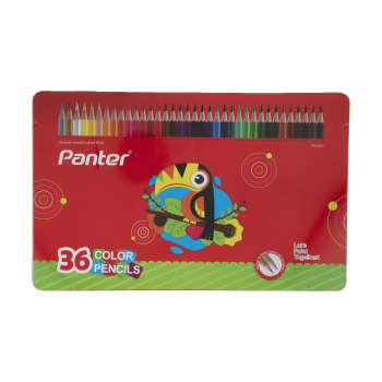 مداد رنگي 36 رنگ پنتر کد MCP103-36
