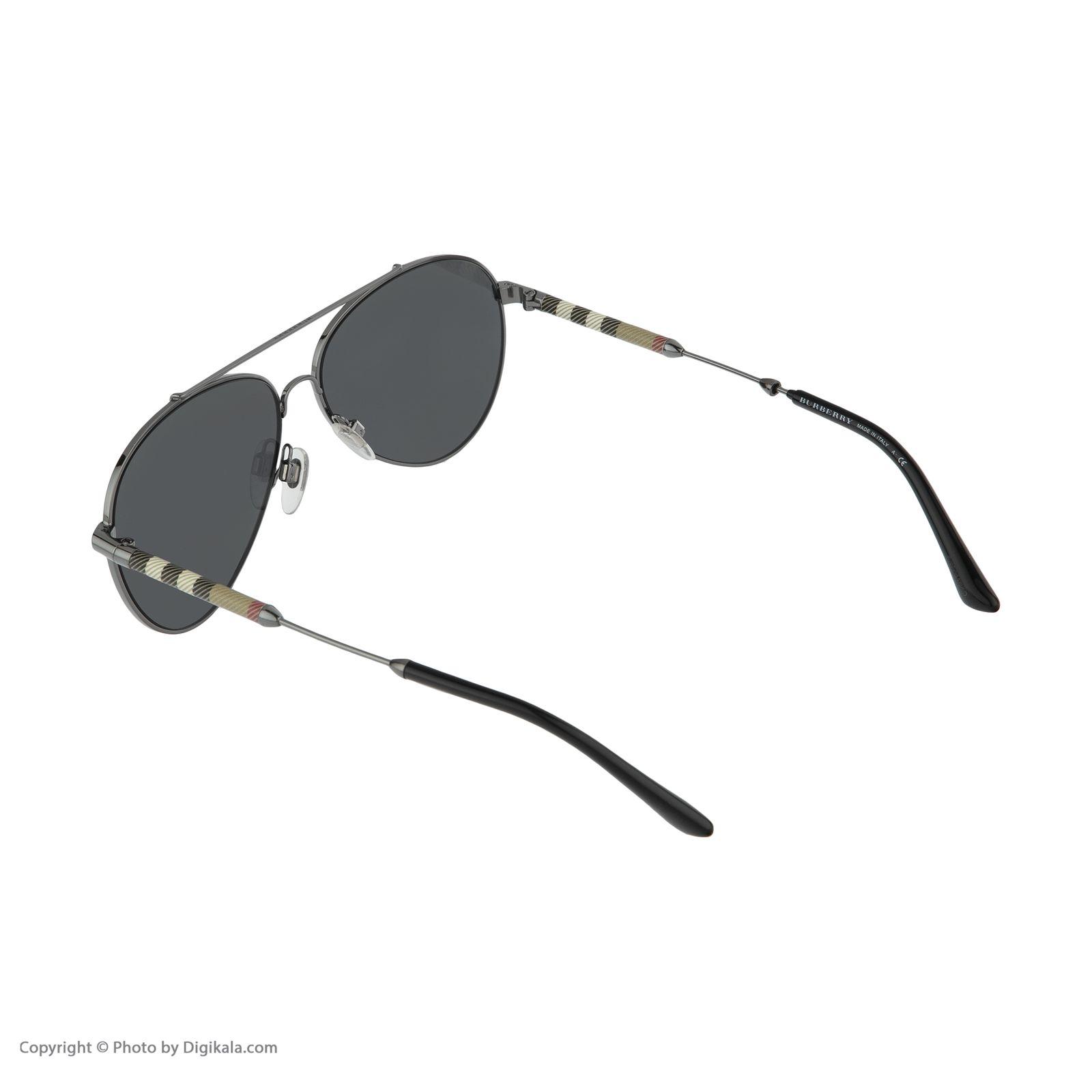 عینک آفتابی زنانه بربری مدل BE 3092Q 100387 57 -  - 5