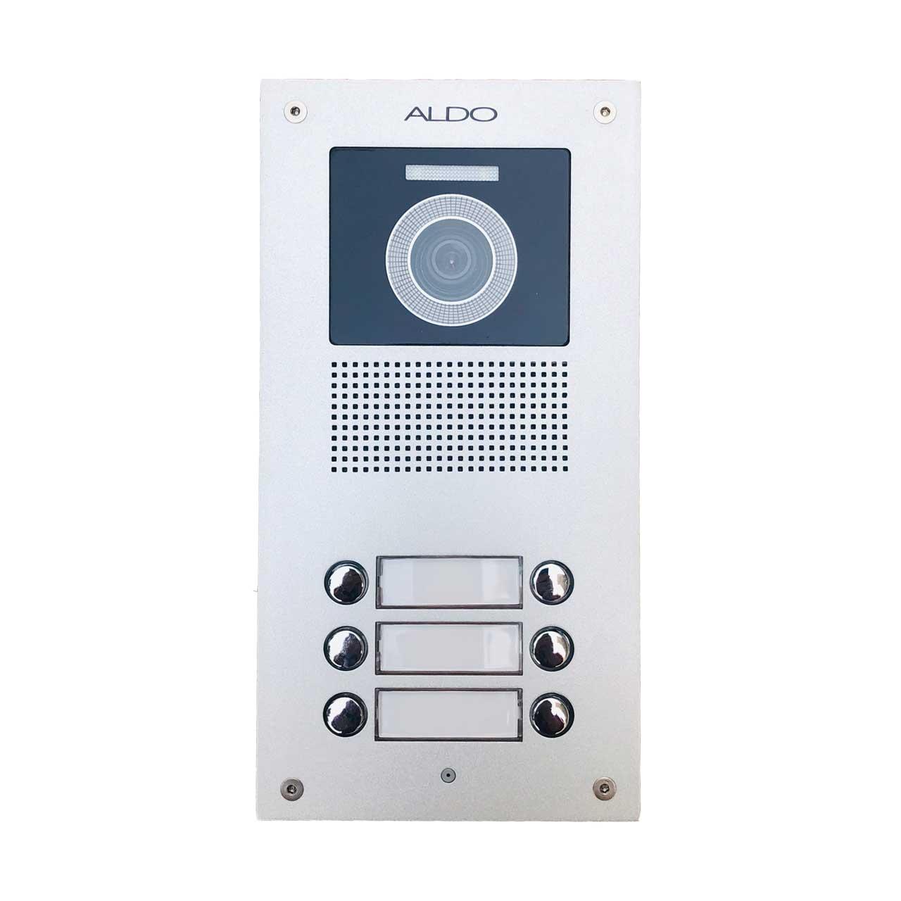 پنل درب بازکن تصویری آلدو مدل AL-6UDC