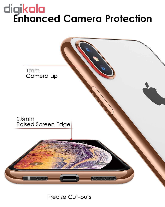 کاور آی دوژی مدل Electroplate Pc مناسب برای گوشی موبایل اپل iPhone XS Max main 1 2