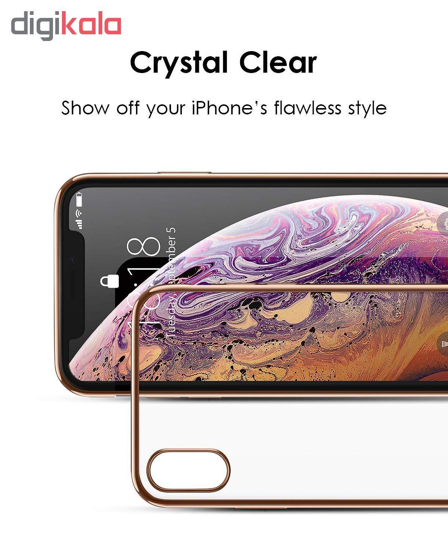 کاور آی دوژی مدل Electroplate Pc مناسب برای گوشی موبایل اپل iPhone XS Max main 1 3