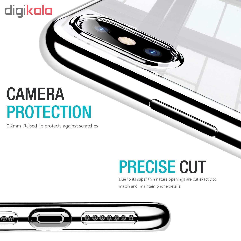 کاور آی دوژی مدل Electroplate Pc مناسب برای گوشی موبایل اپل iPhone XS Max main 1 4