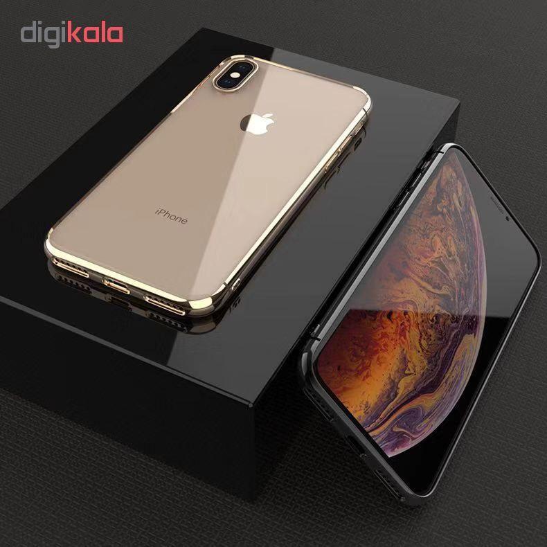 کاور آی دوژی مدل Electroplate Pc مناسب برای گوشی موبایل اپل iPhone XS Max main 1 7