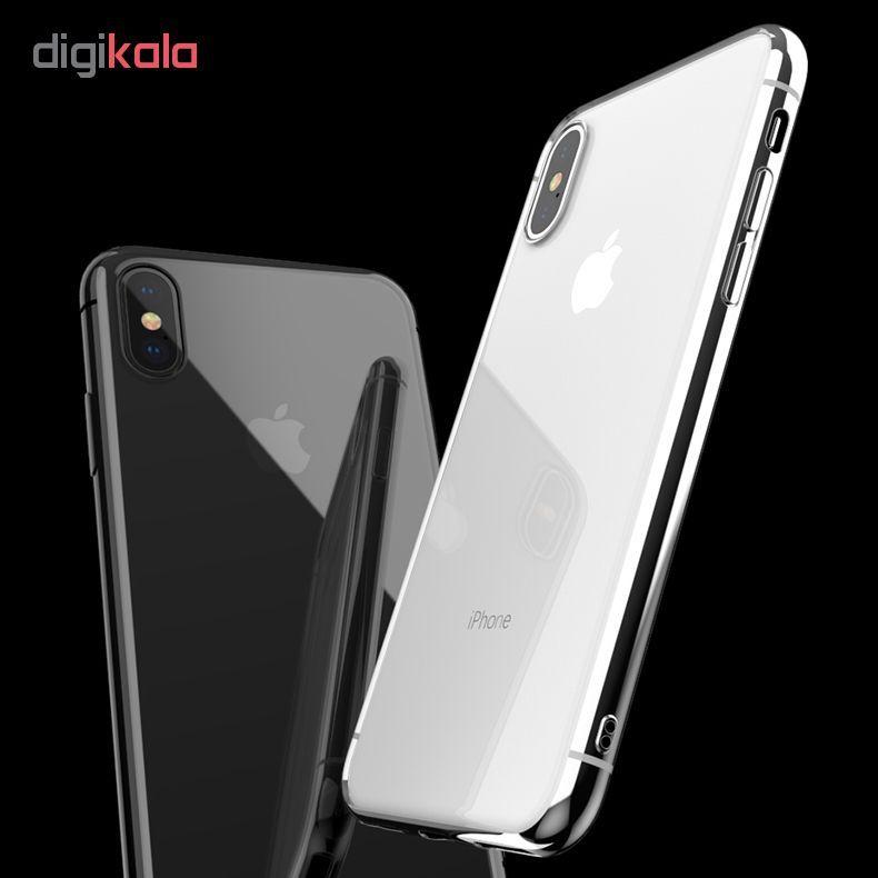کاور آی دوژی مدل Electroplate Pc مناسب برای اپل iPhone X/XS main 1 5