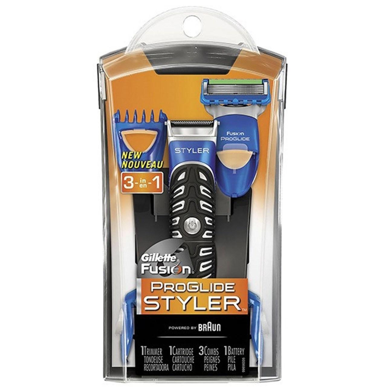 قیمت خود تراش ژیلت مدل Fusion Power Styler همراه با 3 سری شانه