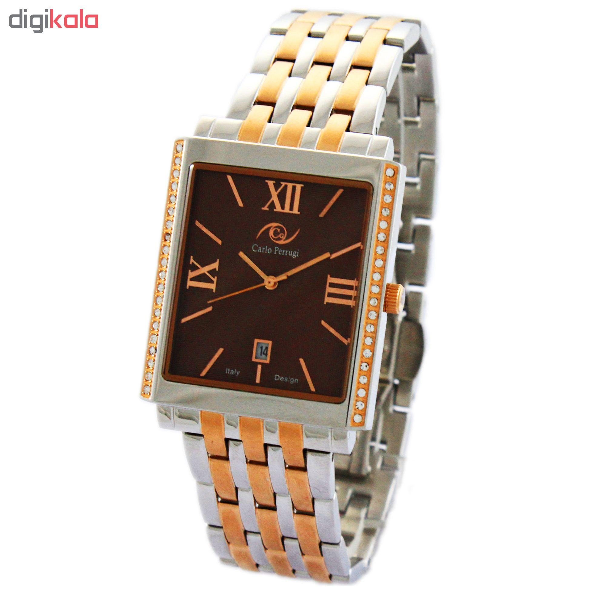 خرید ساعت مچی عقربه ای مردانه کارلو پروجی مدل CG2041-3