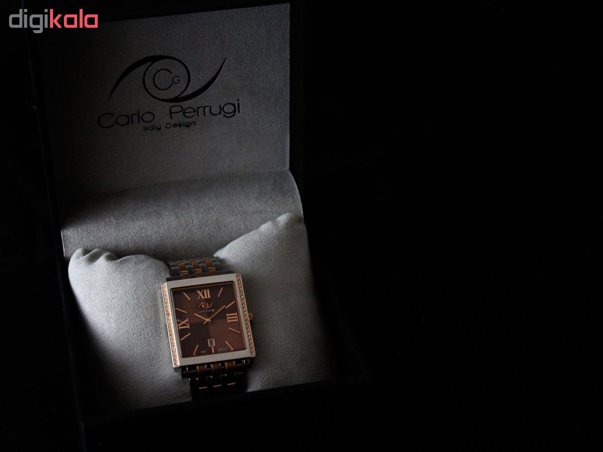 ساعت مچی عقربه ای مردانه کارلو پروجی مدل CG2041-3