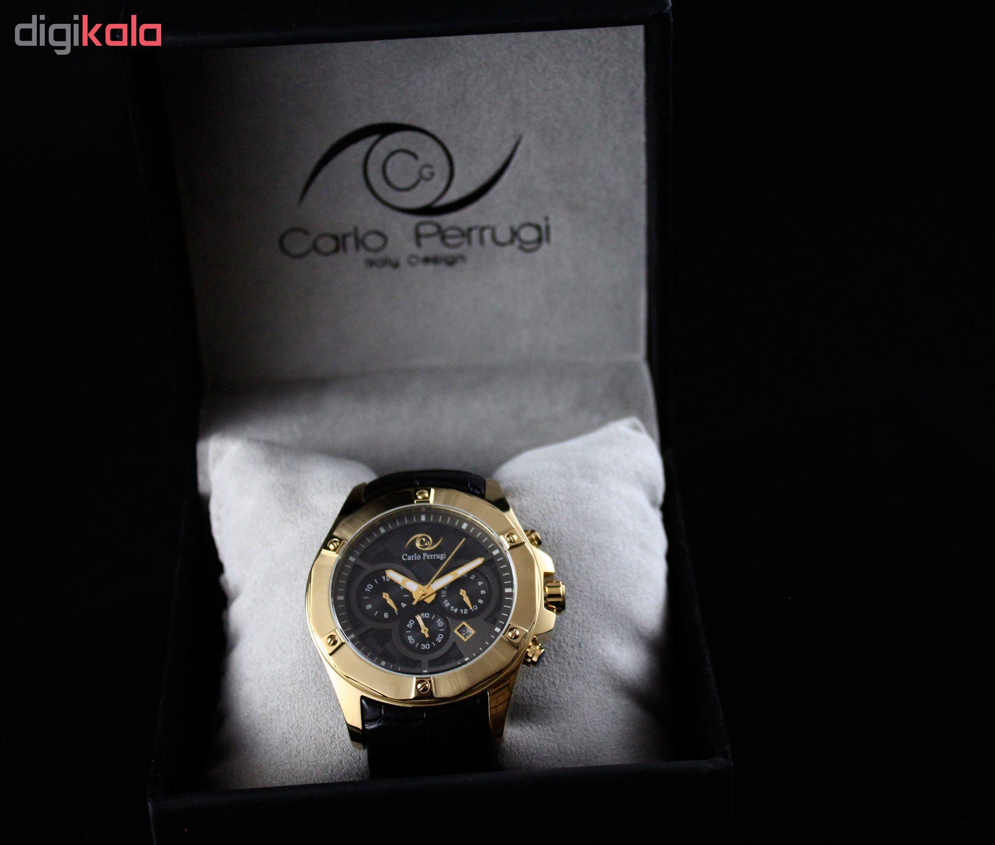 ساعت مچی عقربه ای مردانه کارلو پروجی مدل CG2043-5
