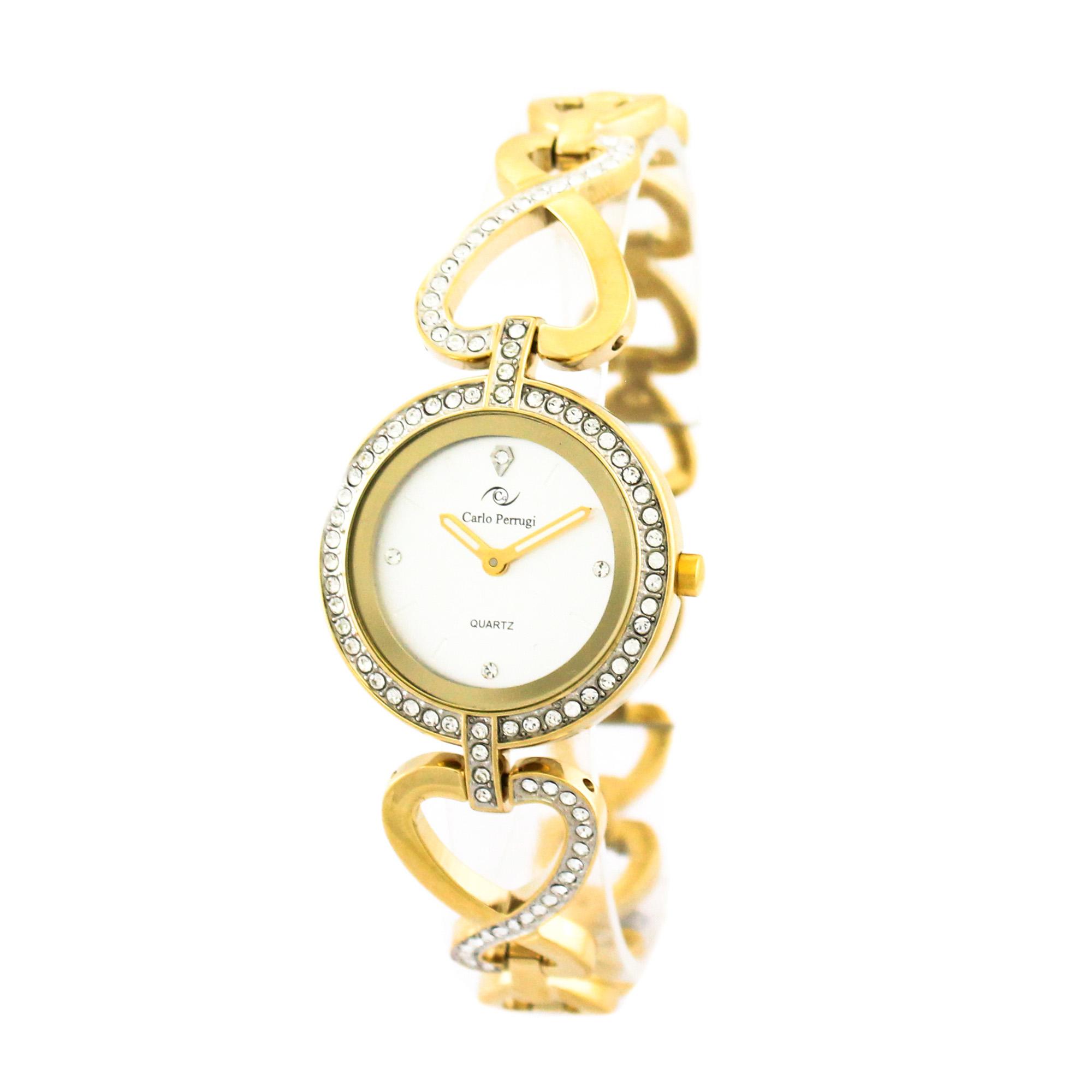 ساعت مچی عقربه ای زنانه کارلو پروجی مدل SL002000-1