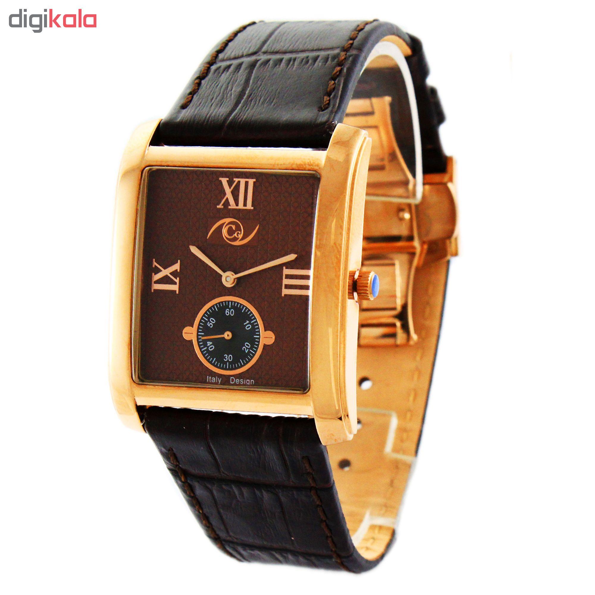خرید ساعت مچی عقربه ای مردانه کارلو پروجی مدل CG2025-3