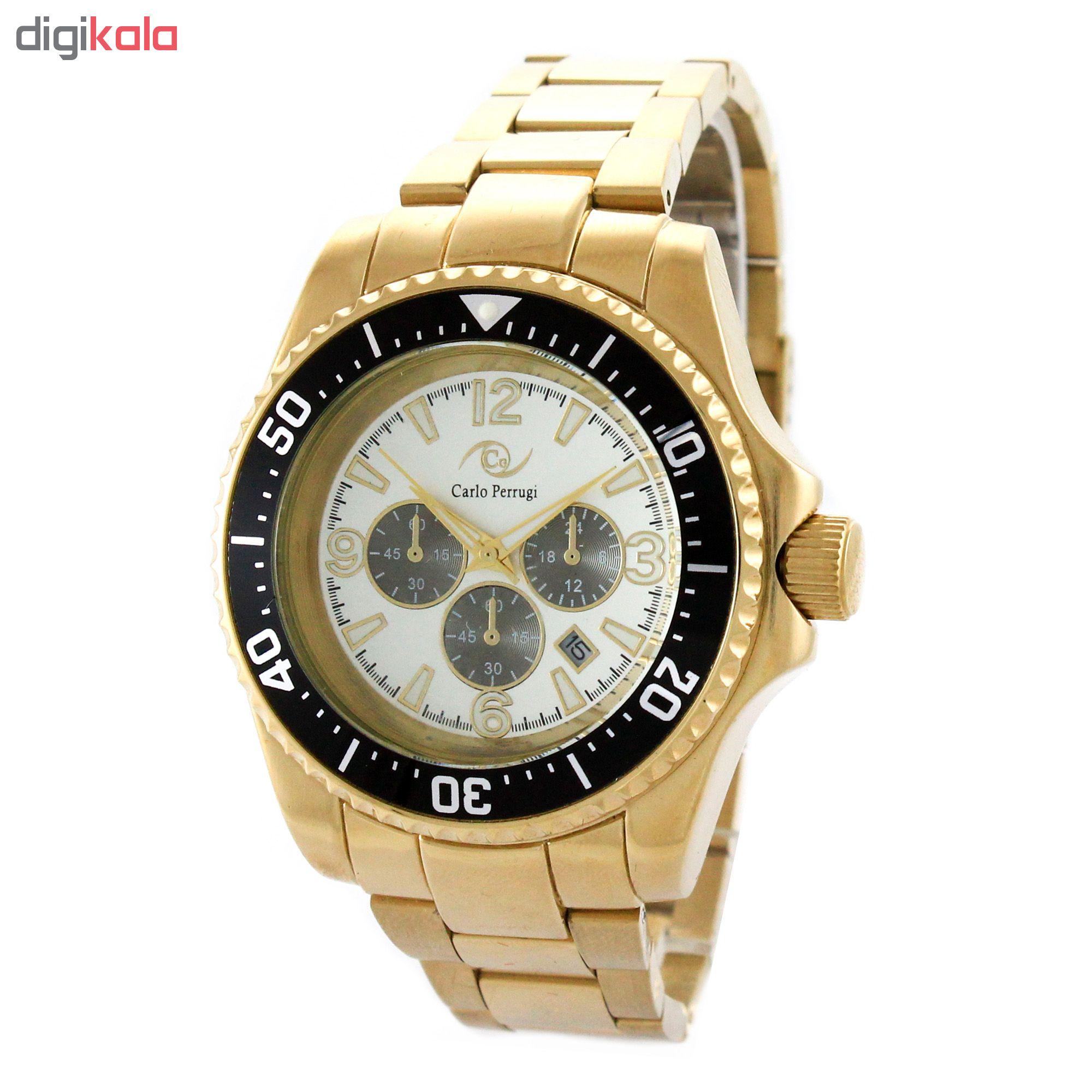خرید ساعت مچی عقربه ای مردانه کارلو پروجی مدل G8998-1