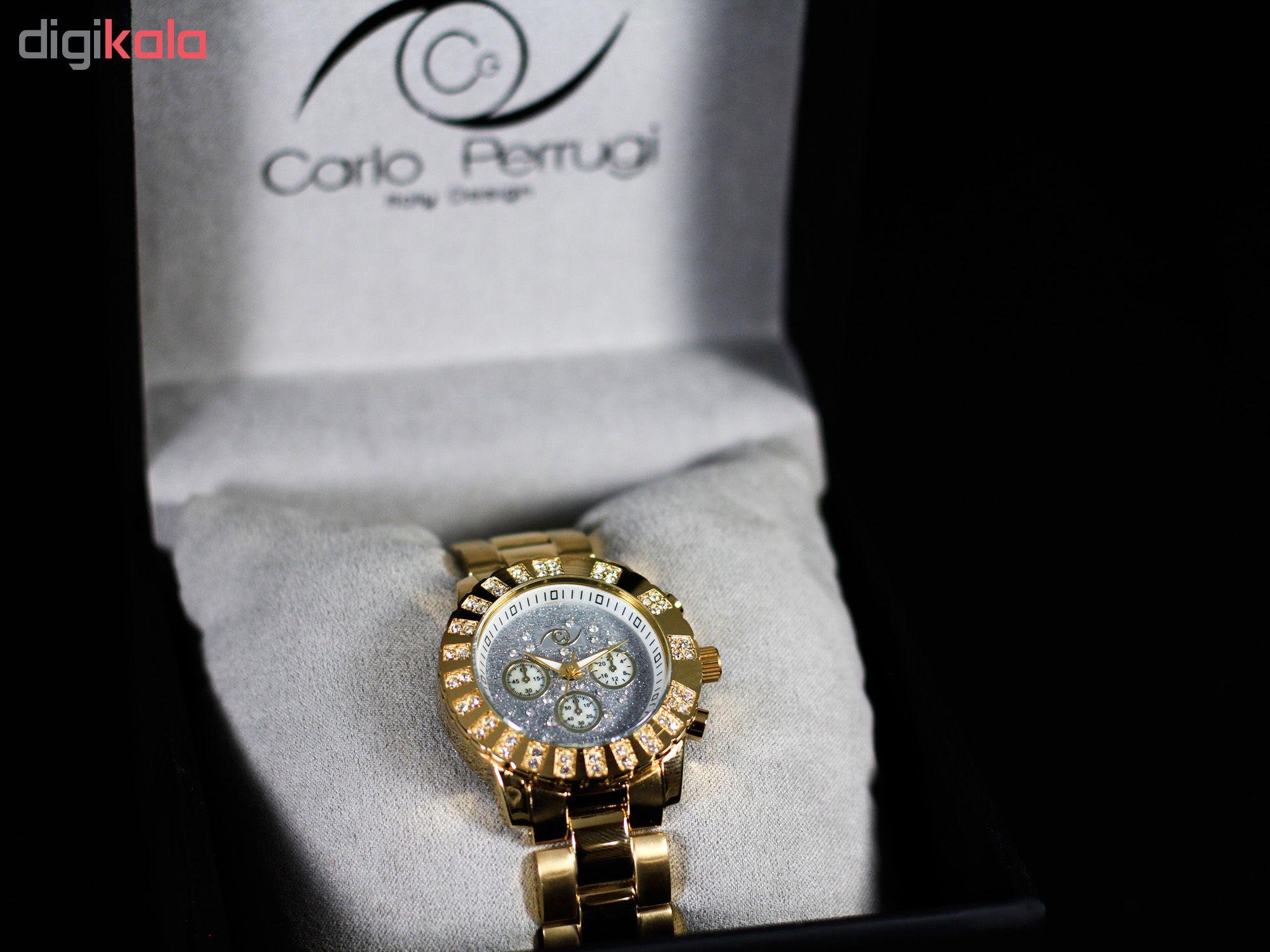 ساعت مچی عقربه ای زنانه کارلو پروجی مدل L8971