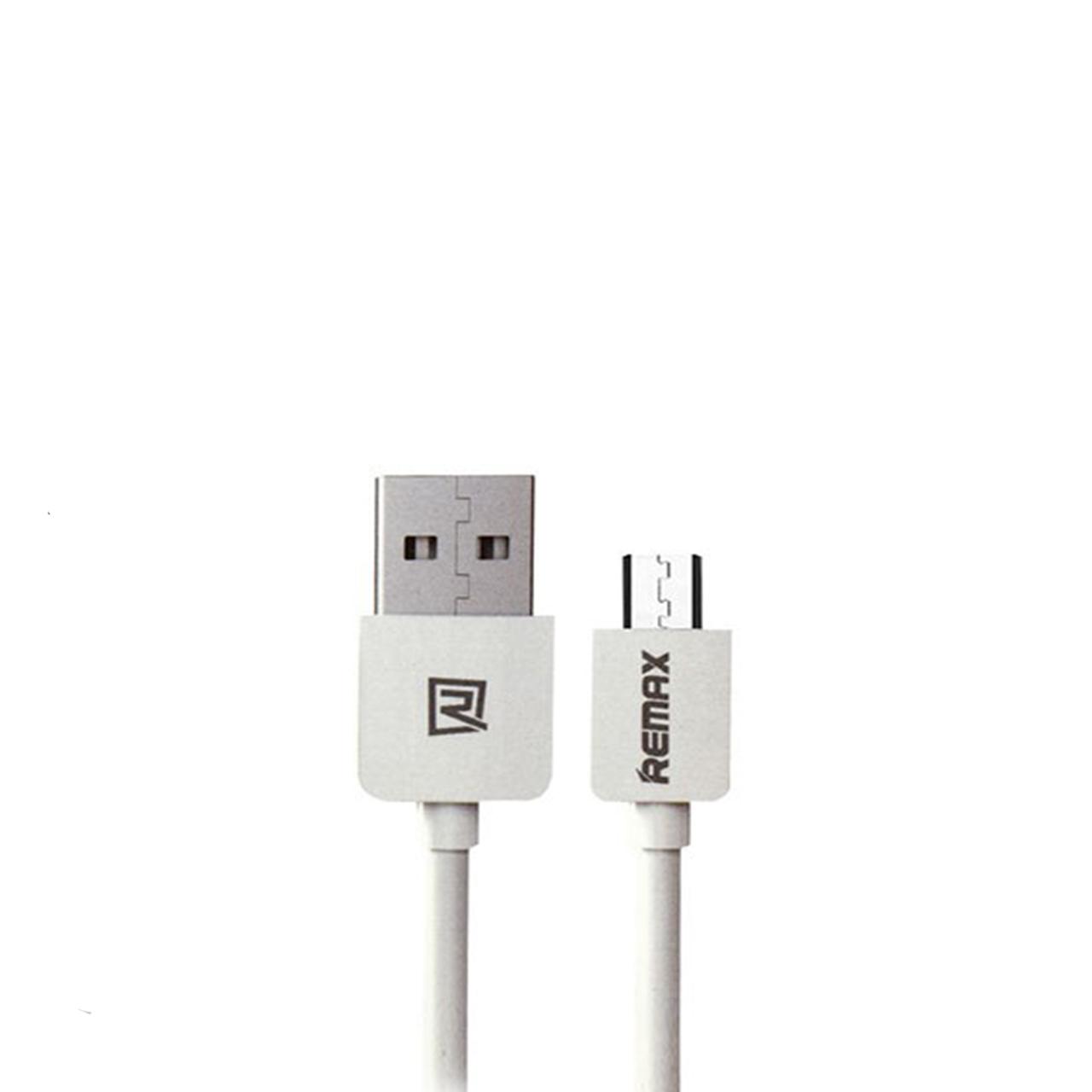کابل تبدیل USB به microUSB ریمکس مدل SAFE CHARGE طول 1 متر