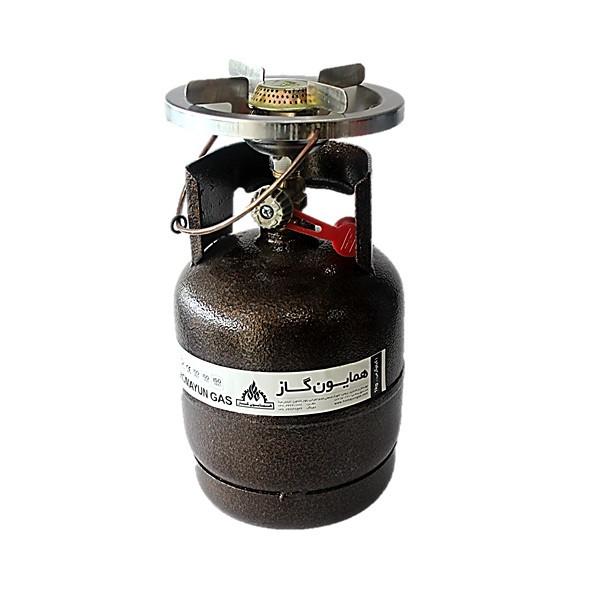 اجاق گاز پیکنیکی همایون گاز مدل سفری 001 حجم 1 کیلوگرم
