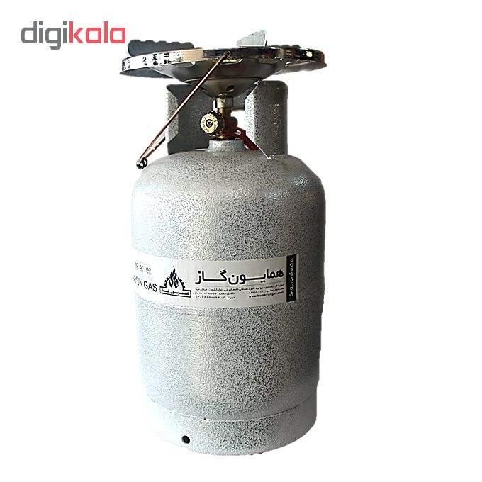 اجاق گاز پیکنیکی همایون گاز مدل سفری 005 حجم 5 کیلوگرم main 1 4