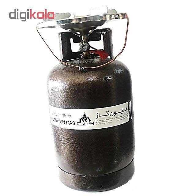 اجاق گاز پیکنیکی همایون گاز مدل سفری 005 حجم 5 کیلوگرم main 1 5