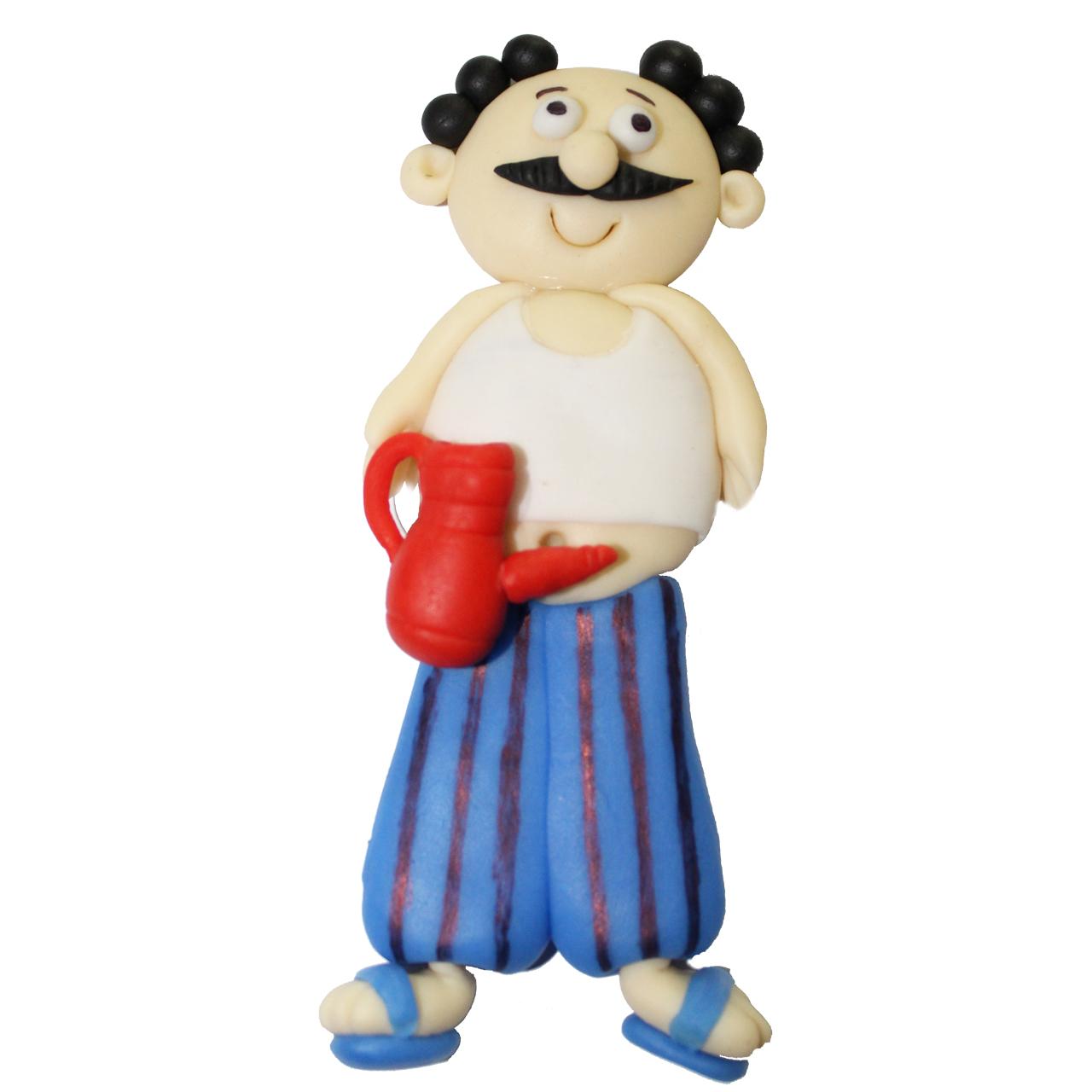 خرید                     عروسک نشانگر درب سرویس بهداشتی طرح مرد عجول ارتفاع 10 سانتیمتری
