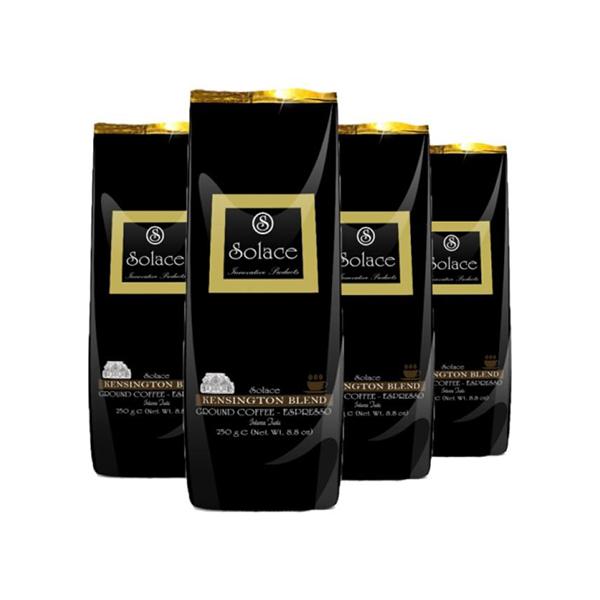 قهوه سولیس مدل KENSINGTON GROUND ESPRESSO مجموعه 4 عددی