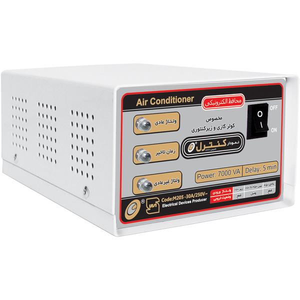 محافظ ولتاژ الکترونیکی نمودار کنترل مدل M205 مناسب کولر گازی و زیر کنتوری
