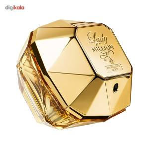 ادو پرفیوم زنانه پاکو رابان مدل Lady Million Absolutely Gold حجم 80 میلی لیتر  Paco Rabanne Lady M