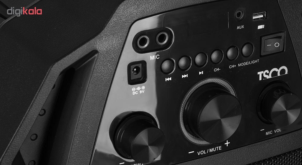 پخش کننده خانگی بلوتوثی قابل حمل تسکو مدل TS 1850 main 1 4