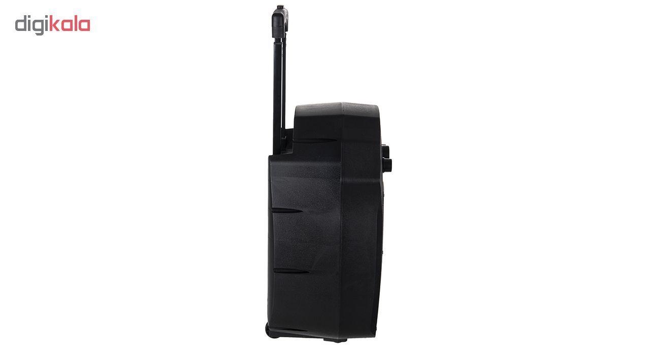 پخش کننده خانگی بلوتوثی قابل حمل تسکو مدل TS 1850 main 1 3
