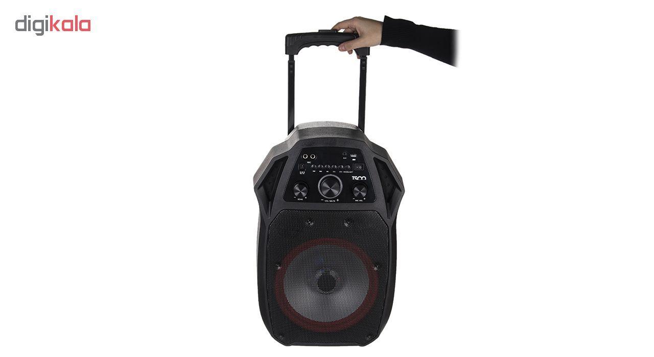 پخش کننده خانگی بلوتوثی قابل حمل تسکو مدل TS 1850 main 1 6