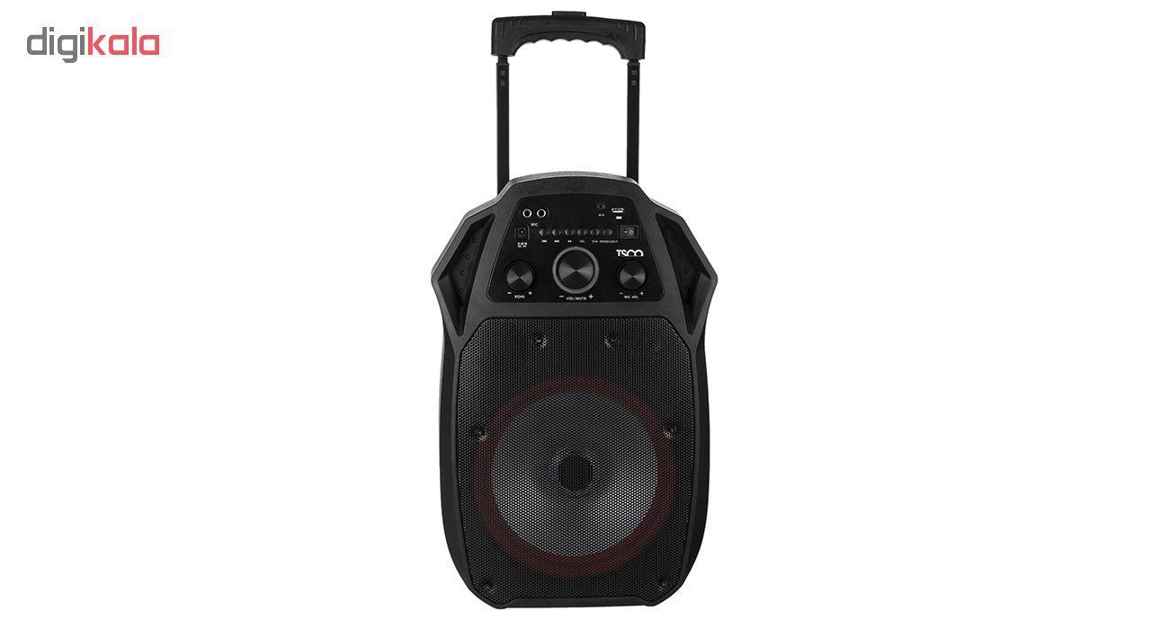 پخش کننده خانگی بلوتوثی قابل حمل تسکو مدل TS 1850 main 1 1