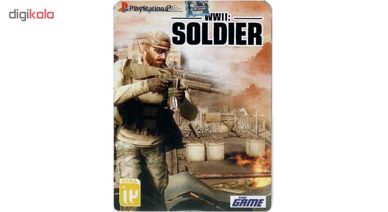 خرید اینترنتی بازی WWII Soldier مخصوص PS2 اورجینال
