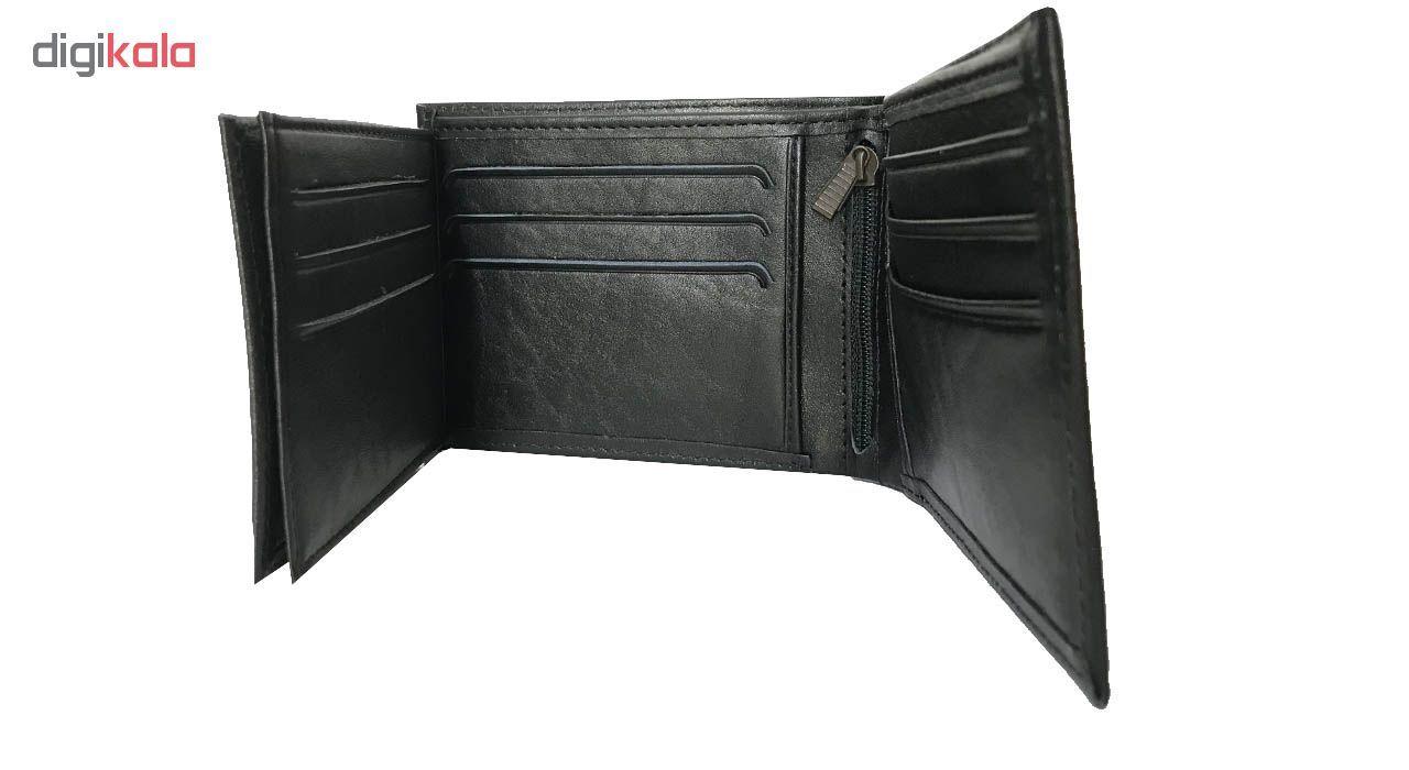 کیف پول چرم رایا مدل Rozana -  - 10