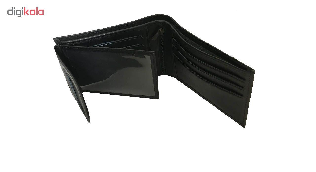 کیف پول چرم رایا مدل Rozana -  - 11