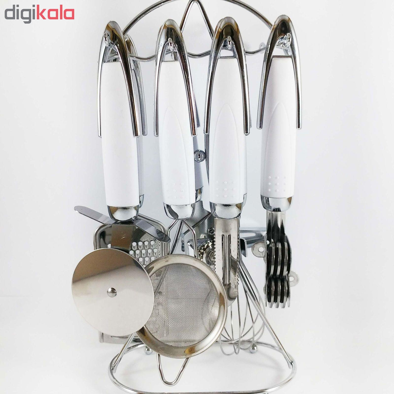 سرویس 8 پارچه ابزار آشپزخانه وی تارا مدل VIT01 main 1 4