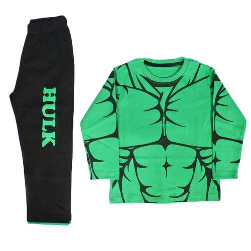 تی شرت و شلوار پسرانه halck برند وچیون مدل H002 hulk