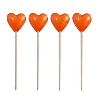 شمع مدل قلب کد 01 بسته 4 عددی