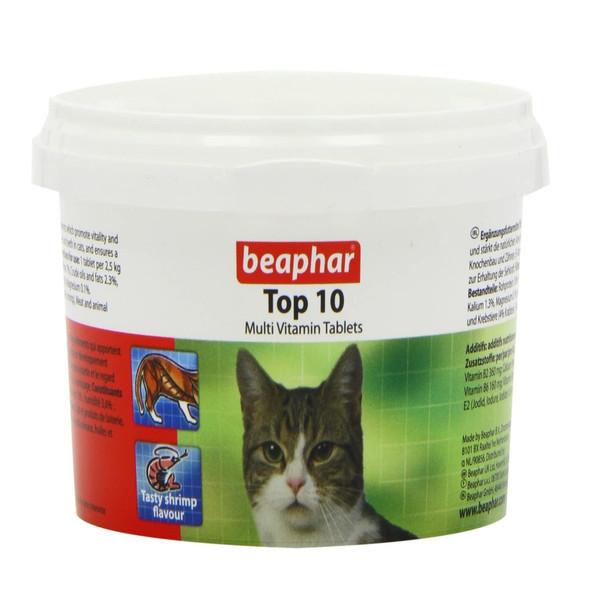 قرص مولتی ویتامین گربه بیفار مدل Cat multi vitamin and minerals بسته 180 عددی