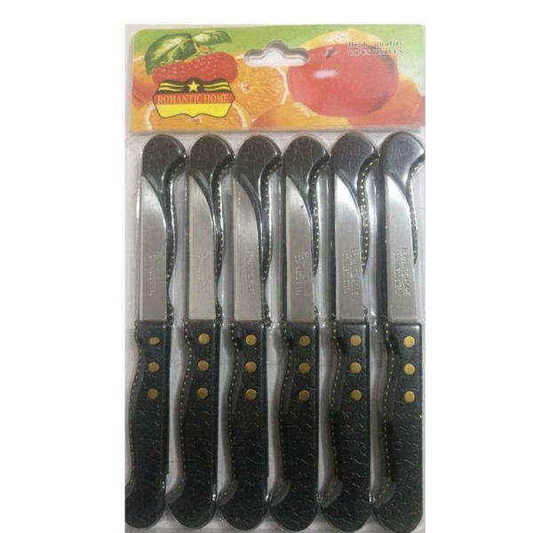 چاقو میوه خوری رومانتیک هوم مدل Am بسته 12 عددی