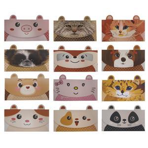 پاکت پول مدل Animals مجموعه 12 عددی