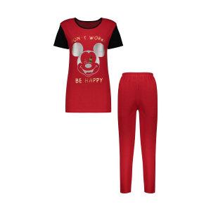 ست تی شرت و شلوار زنانه مدل 358135205