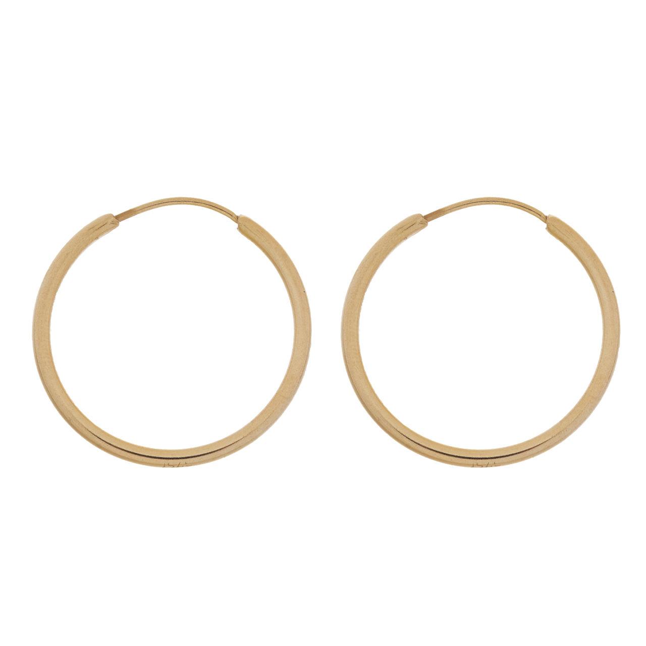 گوشواره طلا 18 عیار زنانه گالری مرجان مدل 0937
