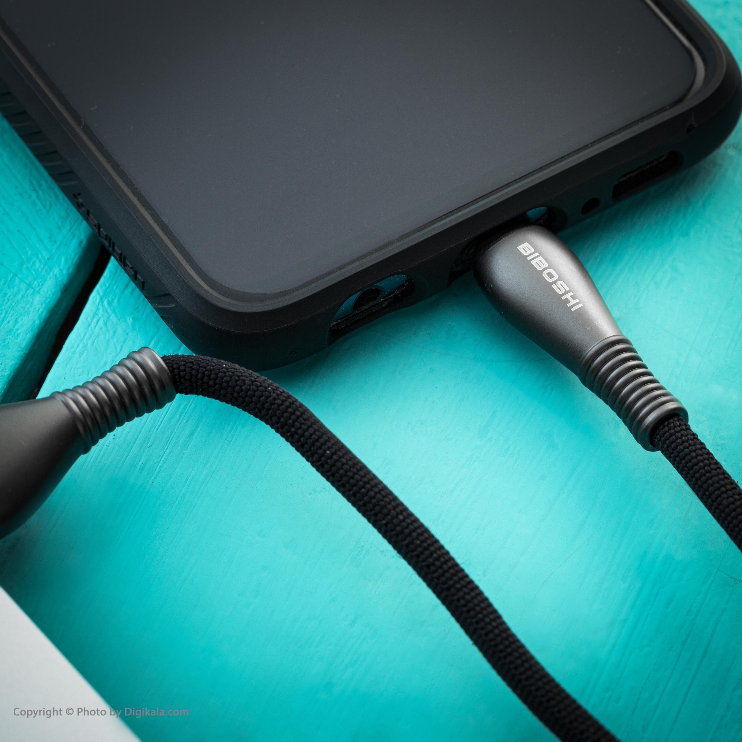 کابل تبدیل USB به USB-C بیبوشی مدل A05 طول 1 متر
