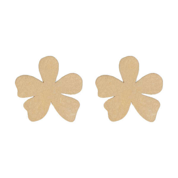 گوشواره طلا 18 عیار زنانه کانیار گالری کد GOA98