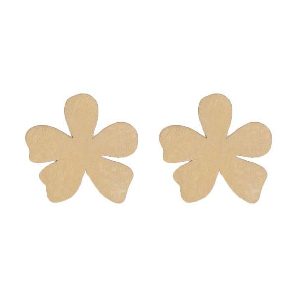 گوشواره طلا 18 عیار زنانه کانیار گالری کد GOA98 -  - 2