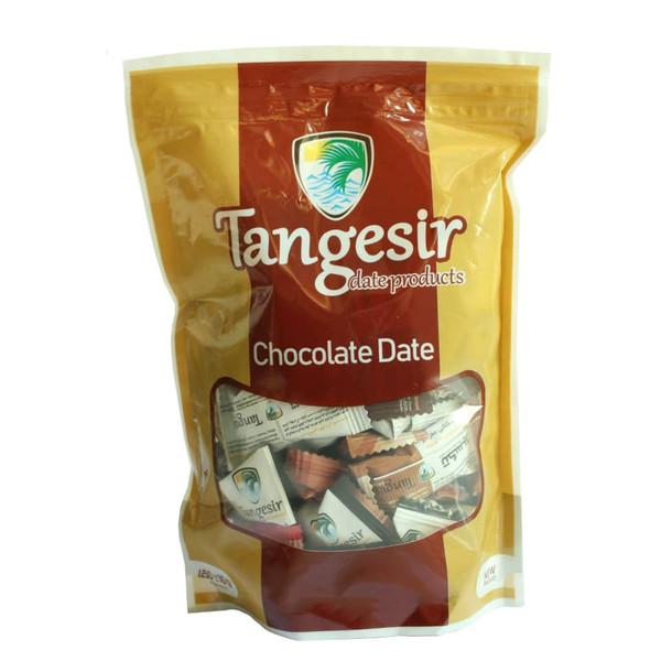 خرما شکلاتی مغزدار  تنگسیر - 450 گرم