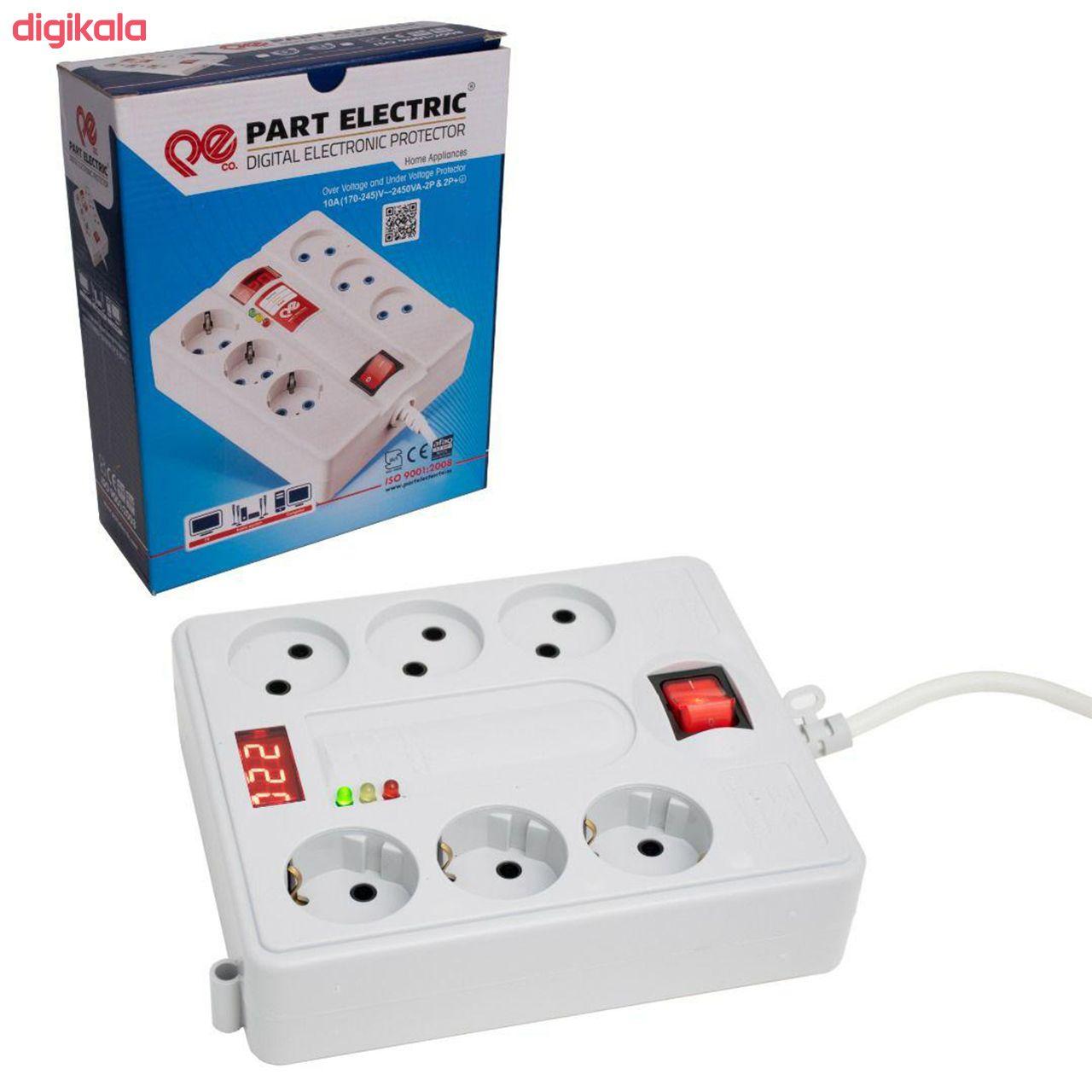 چند راهی برق پارت الکتریک مدل PE-5m main 1 1
