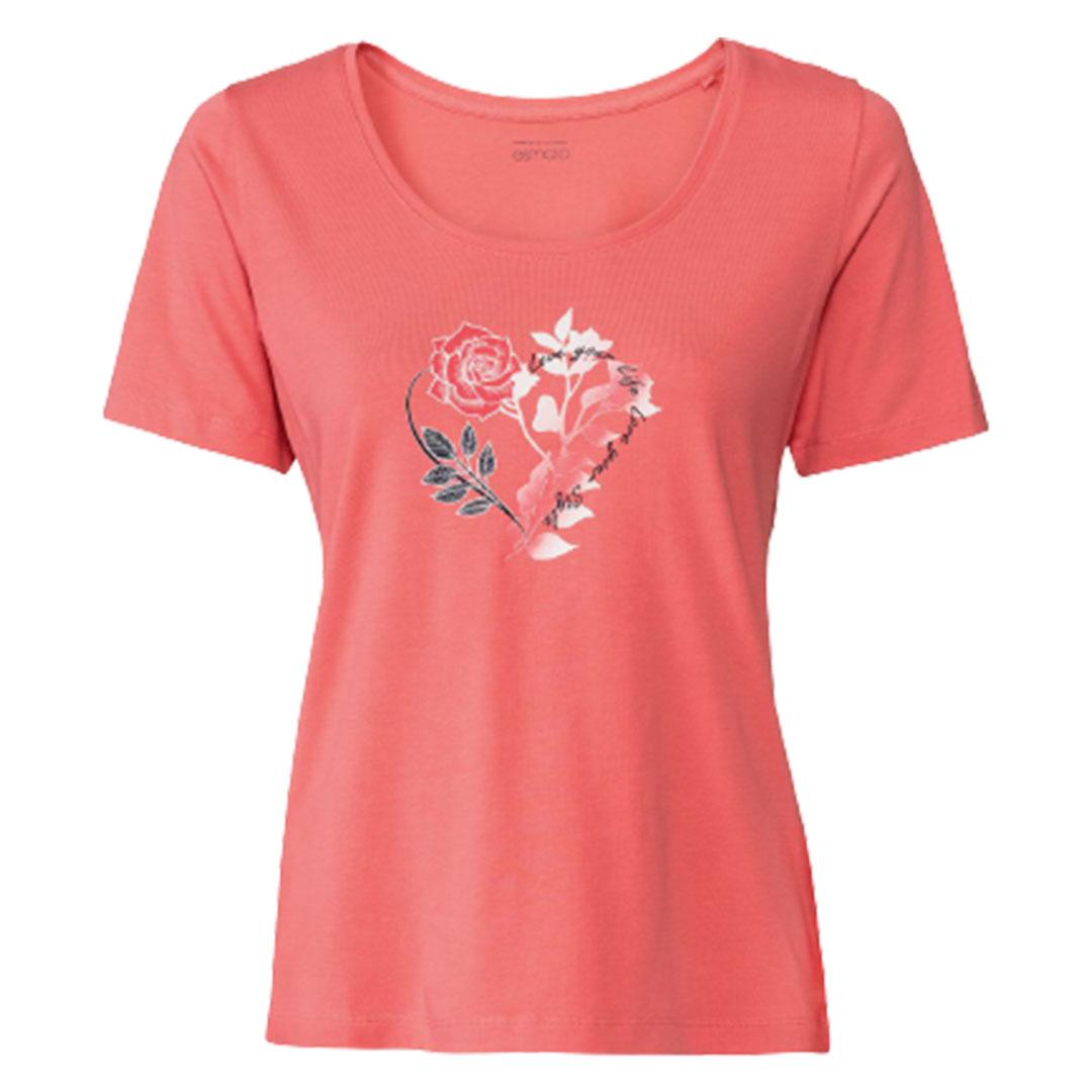 تی شرت آستین کوتاه زنانه اسمارا مدل Es791